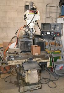 Acra 2 axis Cnc Vertical Mill
