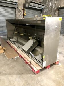 Commercial Staineless Steel Kitchen Hood 12 With Fire Ansul