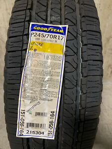 4 New 245 70 17 Goodyear Fortera Hl Tires Fits 24570r17