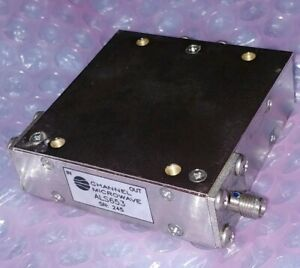 Channel Microwave Als653 Rf Isolator Sma