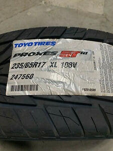2 New 235 65 17 Toyo Proxes St Iii Tires