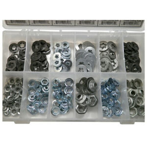 Thread Cutting Nuts Push On Retainer Assortment 12 Sizes 245 Pieces 1623 Fits 1979 Chevrolet Monte Carlo