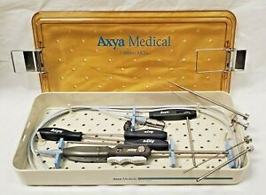 Lot Axya 1104 Medical Axyaweld Suture Welding W Case Tools Cpics4details