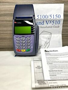 Verifone Vx510 Omni 3730 Credit Card Reader Terminal No Power Cords Barely Used
