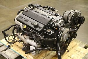 C4 Corvette Lt1 Engine Complete With Wiring Harness And Ecm 111k 1995 Video