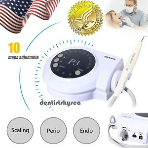 Dental Ultrasonic Scaler W 5 scaling Tip Handpiece Fit Dte Satelec Cleaning P