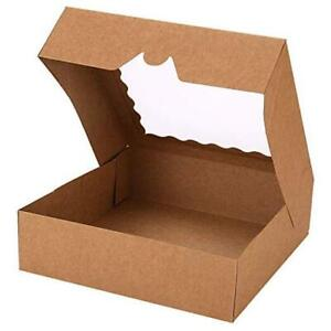 pack Pie Boxes 10 X 10 X 2 5 Bakery Boxes With Window Auto popup 30