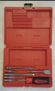 Snap On Tools New 1 4 Drive Expandable General Service Set W Driver 107atmpb