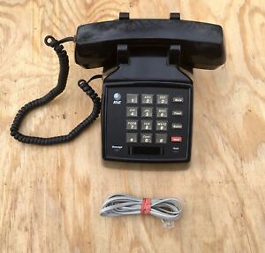 Lucent 2500 Ymgl At t Single Line Analog Telephone Black Excellent Condition