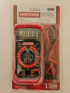 34 82141 Digital Multimeter With 8 Functions And 20 Ranges Craftsman New In Pkg