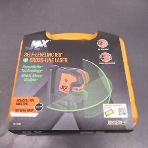 Johnson 40 6681 Self leveling 180 Cross line Laser With Greenbrite Technology