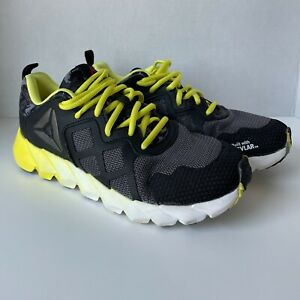 Reebok Exoskell Athletic Sneakers Size6 Built With Kevlar Black Yellow Camo Back $50.00