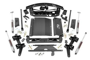 Rough Country 6 Lift Kit Fits 88 98 Chevy Gmc Ck 1500 92 99 Suburban Tahoe