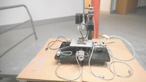 Sherline Milling Machine Model 5410 With X Y Z Axis Motors And Stand Used