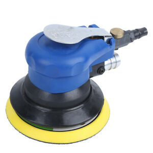 New 5in Pneumatic Air Sander 10000rpm Waxing Polishing Machine Dust Collection