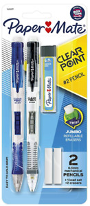 New Paper Mate Clearpoint Mechanical Pencil Starter Set 0 5 Mm Assorted Colors
