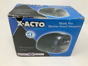 X acto Work Pro Electric Pencil Sharpener By Boston Brand New Open Box