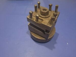 4 Position Indexing Lathe Turret Tool Post 3 x3 1 2 Tools