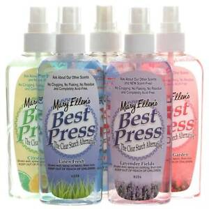 Mary Ellen Best Press Spray 6oz Bottle Six Different Scents FREE GIFT W Purchase $3.99