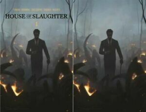 House of Slaughter #1 Jeehyung Lee Set of 2 Presale NM $69.99