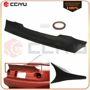 Fits 1990 1997 Mazda Miata Rear Boot Trunk Tailgate Spoiler Ducktail Upainted Pu