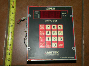 Ametek Gemco 1995 a6mxx Programmable Limit Switch 6 Outlet Relay 10amp