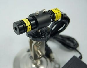 660nm 50mw Industrial Focusable Laser Line Module with Psu And Bracket 12v