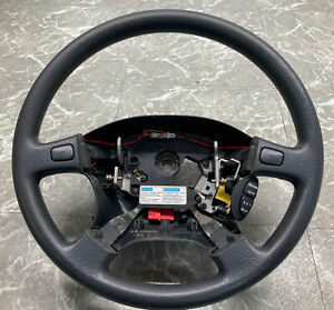 94 01 Acura Integra Steering Wheel With Cruise Control Switch Button Oem Black