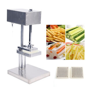 25w Commercial Restaurant Cutter Potato Stripes Electric French Fry Fries Maker
