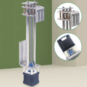 Ball Screw Linear Cnc Slide Stroke Stage Actuator 2 Phase Stepper Motor Durable