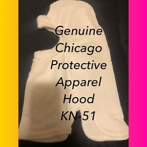 Chicago Nomex Apparel Hood Full Face Flame Resistance 4 Pack heavy Duty kn 51