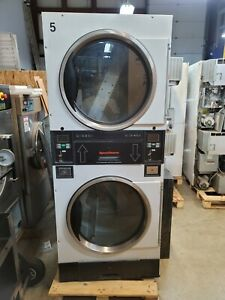 Speed Queen Commercial Stack Dryer Coin Operated 30lb Pockets St030
