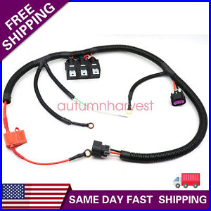 Dual Electric Fan Upgrade Wire Harness Kit For Gm 99 C06 Ecu Electric Cooling