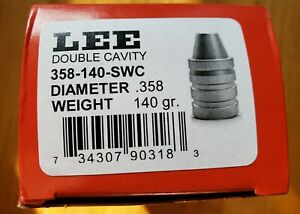 Lee MOLD DC 358 140 SWC Lee 90318 357 or 358 cal $32.99