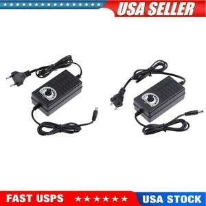 Ac To Dc Adapter 3 24v 2a Adjustable Power Supply Motor Speed Controller