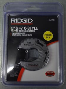 Ridgid C34 1 2 3 4 C style Copper Tubing Cutter New And Sealed