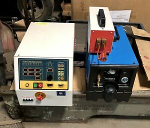 Rdo 5 Kw Induction Heating System Coil Controls And Miller Coolmate 3