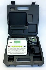 Brother P touch Label Maker Machine Printer Pt d400 With Case