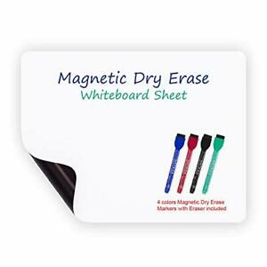 Magnetic Dry Erase Whiteboard Sheet 8 5 X 11 Inches Planner W Stain Resistant