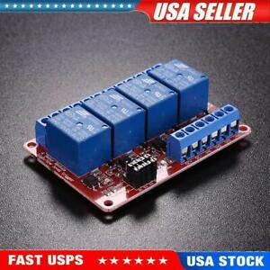 4 channel 12v Relay Module With Optocoupler H l Level Triger For Arduino