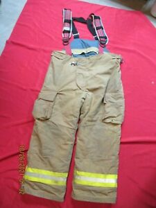 Lion Starfield 48 X 30 Firefighter Turnout Bunker Gear Pants Rescue Tow Towing