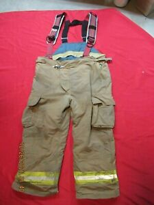 Lion Starfield 50 X 29 Firefighter Turnout Bunker Gear Pants Rescue Tow Towing