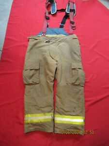Lion Starfield 46 X 29 Firefighter Turnout Bunker Gear Pants Rescue Tow Towing