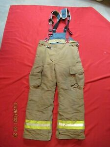 Lion Starfield 38 X 31 Firefighter Turnout Bunker Gear Pants Rescue Tow Towing