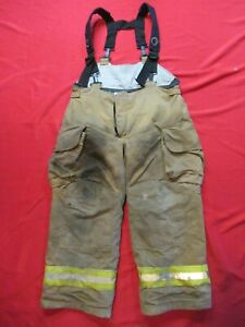 Mfg 2007 Lion Janesville 42r Firefighter Turnout Bunker Gear Pants Rescue Tow