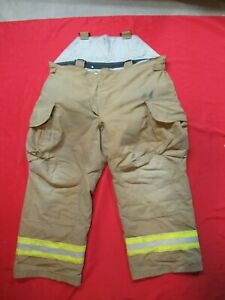 Mfg 2007 Lion Janesville 48r Firefighter Turnout Bunker Gear Pants Rescue Tow