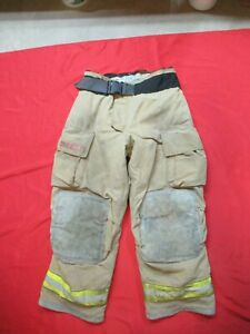 Mfg 2005 Globe Gxtreme 36 X 30 Firefighter Turnout Bunker Pants Fire Rescue