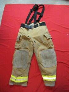 Mfg 2007 Globe Gxtreme 46 X 30 Firefighter Turnout Bunker Pants Fire Rescue