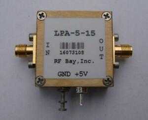 70 5500mhz Wideband Rf Amplifier Lpa 5 15 New Sma