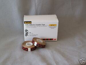 3m Scotch 3 4 969 2 Sided Atg Tape 12 Pack